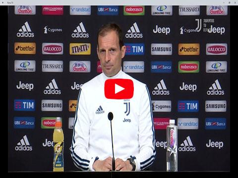 Conferenza stampa di Allegri Inter Juventus