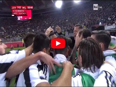 Juventus Milan 4-0 finale di Coppa Italia 9 Maggio 2018